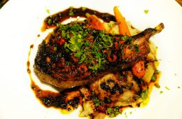 South City Kitchen Molasses Brined Pork Chop