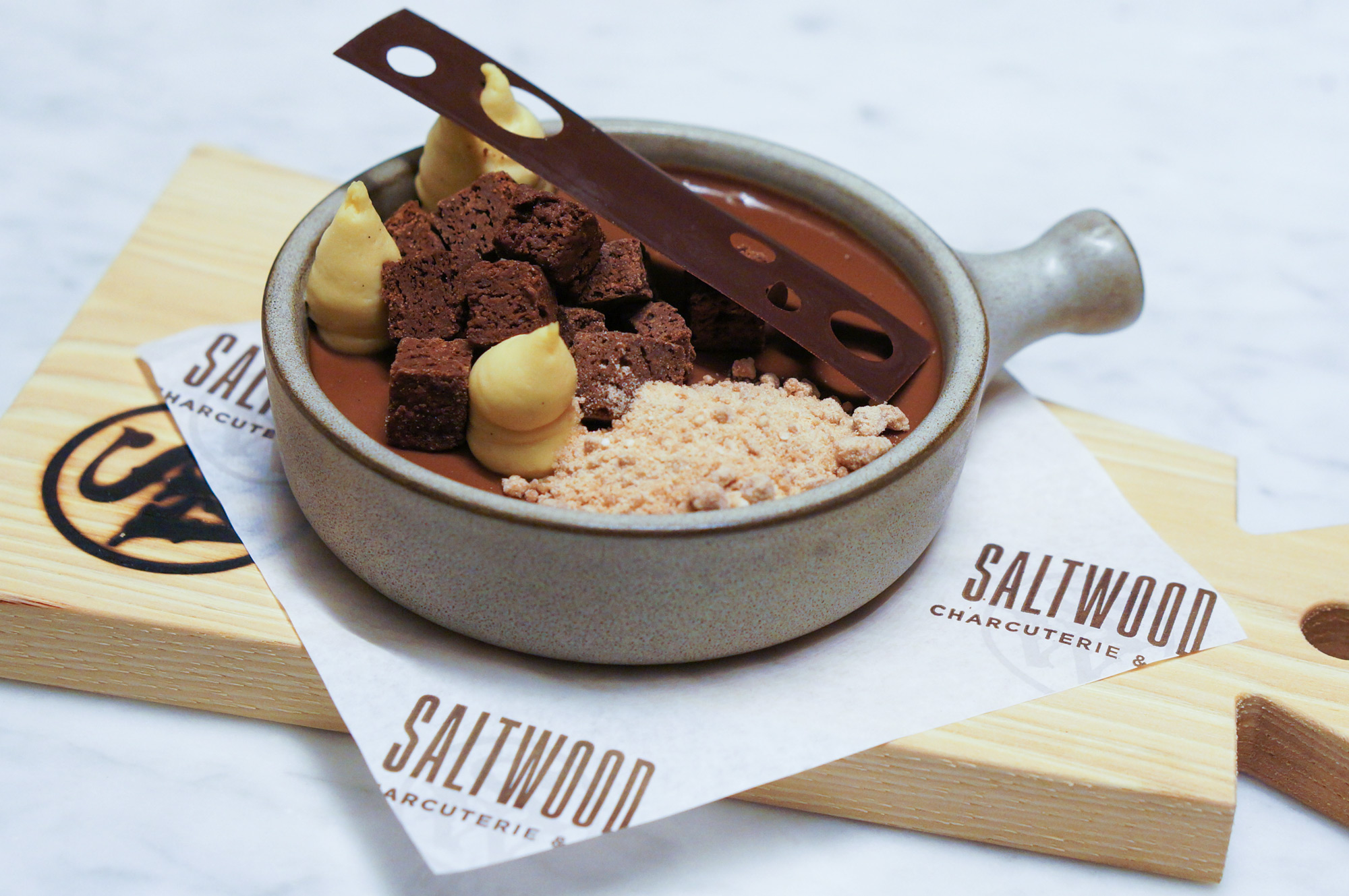 Saltwood Charcuterie & Bar Chocolate Pot de crème