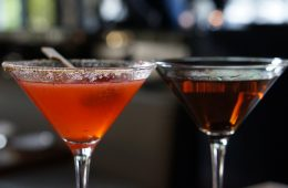 STK Rush Hour Happy Hour Strawberry Cobbler Cucumber Stiletto Not Your Daddys Manhattan